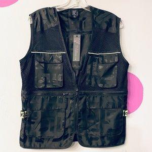 LF Jackets & Coats - NWT🌟LF THE BRAND NET WINDBREAKER CARGO 🔥👌